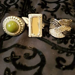 Lia Sophia fashion ring bundle